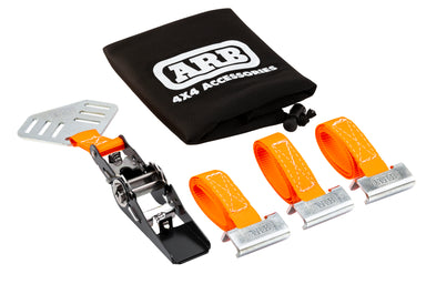 Arb base rack spare tire mount