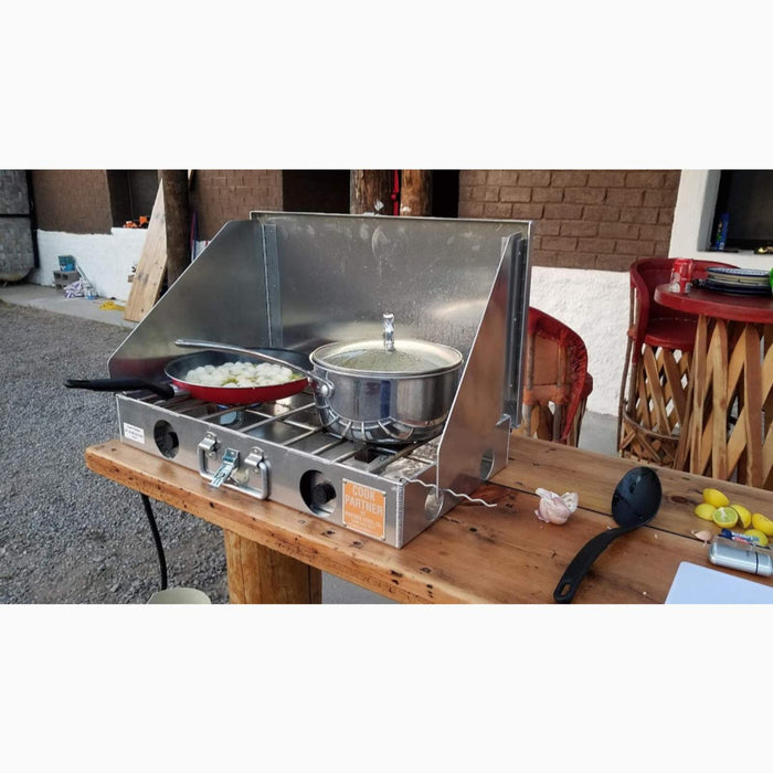 "COOK PARTNER 22"" STOVE WITH WIND SCREEN sold by Mule Expedition Outfitters"
