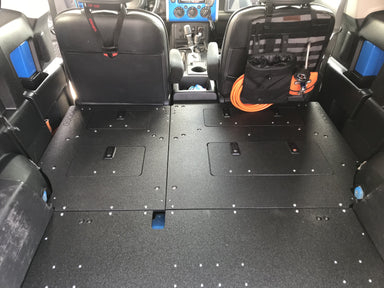 Goose Gear FJ Cruiser Second Row Delete / Sleeping Platform - Low Profile