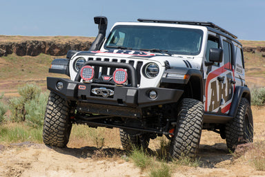 ARB Jeep Wrangler JL & Jeep Gladiator JT Classic Deluxe Winch Bumper 3450440 sold by Mule Expedition Outfitters www.dasmule.com