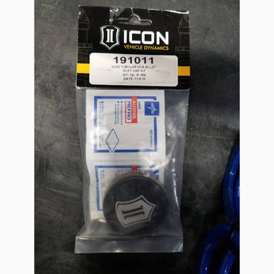 Icon Tubular Upper Control Arm Cover Cap Kit