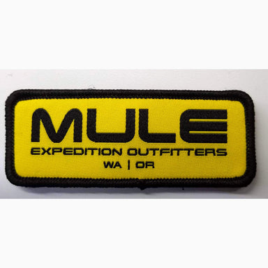 Mule Logo Patch Woven Rectangle
