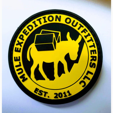 Mule Logo Patch Round PVC