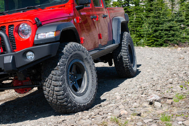 ARB Jeep Gladiator Rock Sliders sold and installed by Mule Expedition Outfitters