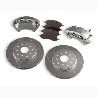 Teraflex JK/JKU Front Big Brake Kit w/ Slotted Rotors