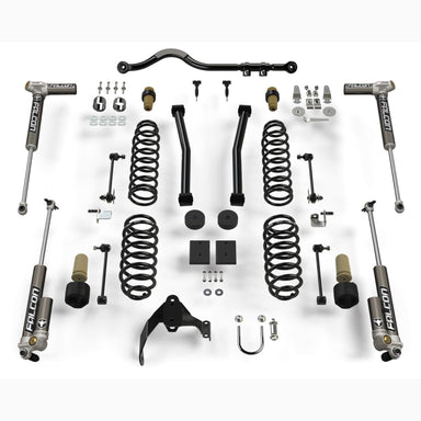 "JKU 4-Door: 2.5"" Sport ST2 Suspension System w/ Falcon 3.2 Shocks Teraflex"