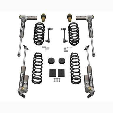 "JKU 4-Door: 1.5"" Sport ST1 Suspension System w/ Falcon 3.2 Shocks"