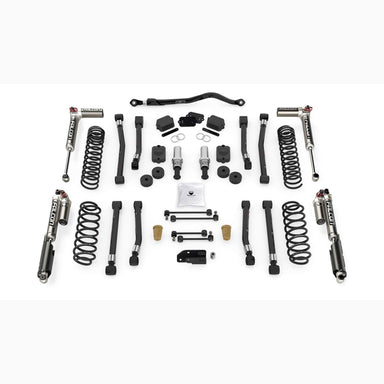 "JL 2dr: 2.5"" Alpine RT2 Short Arm Suspension System & Falcon SP2 3.3 Fast Adjust"