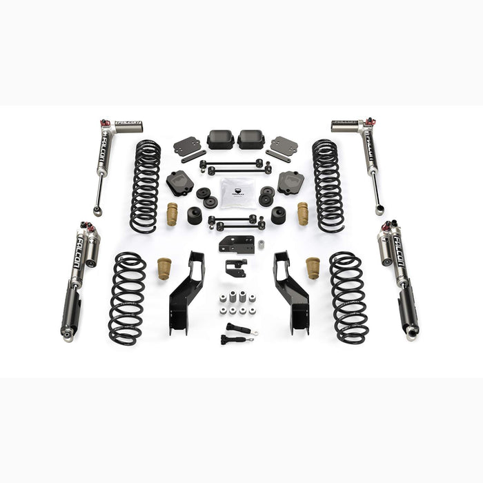 "JL 4dr: 3.5"" Sport ST3 Suspension System & Falcon SP2 3.3 Fast Adjust Teraflex"