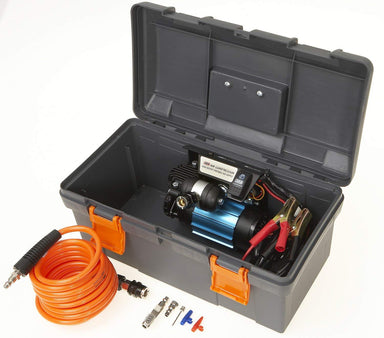 ARB HIGH PERFORMANCE SINGLE PORTABLE COMPRESSOR 12V (CKMP12)