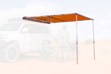 ARB Shade Awning 2500 x 2500 w/ LED light kit - 814410 sold by Mule Expedition Outfitters