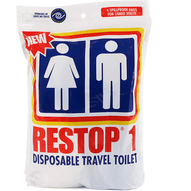 Restop 1 Disposable Travel Toilet (Liquid Waste)