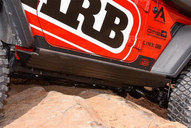 ARB Jeep Wrangler JL 2-Door Rock Sliders 4450250 sold by Mule Expedition Outfitters
