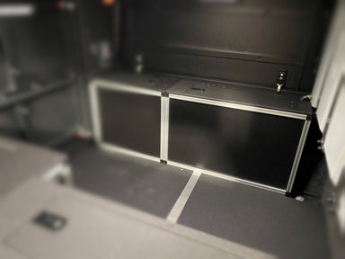 Alu-Cab Canopy Camper Version 2.0 Front Utility Module Chevy Colorado / GMC Canyon 5 Foot Bed 2015-Present