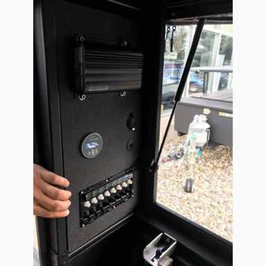ALU-CAB CANOPY CAMPER REAR QUARTER ELECTRICAL PANELS