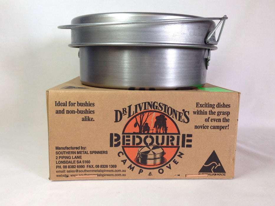 "Dr Livingstone's Bedourie Camp Oven 10"" sold by Mule Expedition Outfitters www.dasmule.com"
