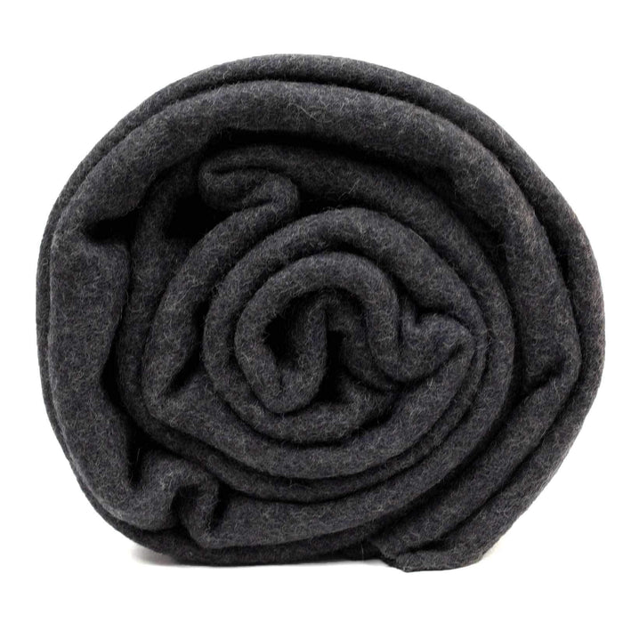 Swisslink Charcoal Grey Classic Wool Blanket