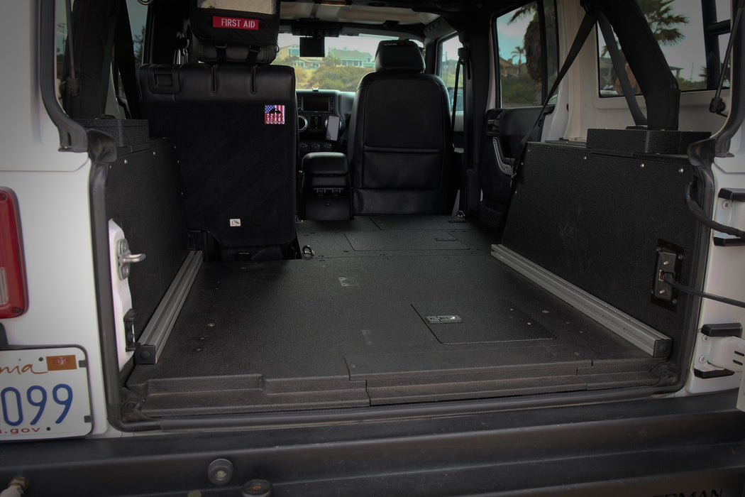 Goose Gear Jeep Wrangler JK Unlimited Sleeping Platforms
