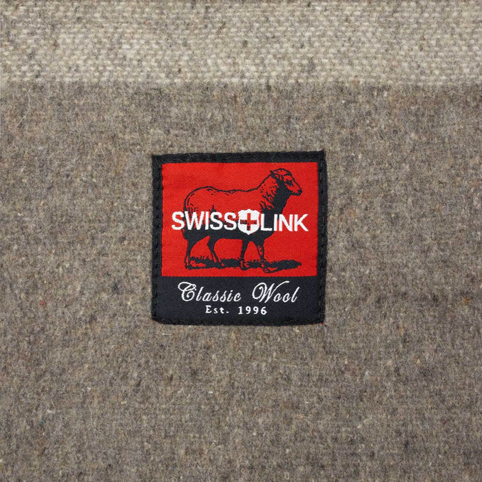 Swiss Link Officers Reproduction Wool Blanket sold by Mule Expedition Outfitters in Issaquah, WA www.dasmule.com