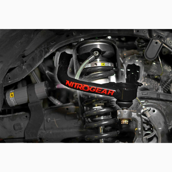 Extended Travel Ball joint style, Nitro Upper Control Arms (Pair) for 2005+ Toyota Tacoma Nitro Gear