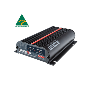 REDARC DUAL INPUT 50A IN-VEHICLE DC BATTERY CHARGER (BCDC1250D)