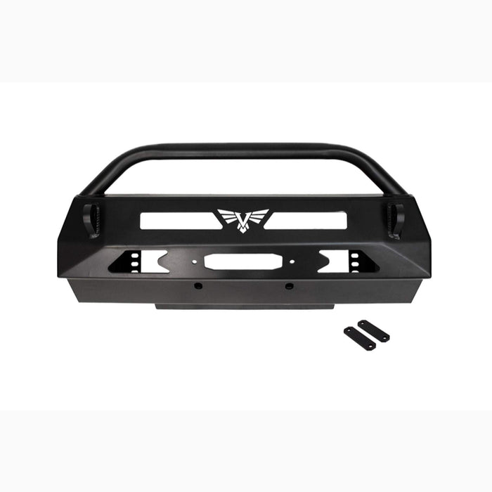 4Runner 03-09 Front Blitz Winch Bumper With Tube 4th Victory 4x4