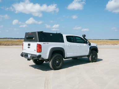 Alu-Cab Explorer Canopy for 2015+ Chevrolet Colorado / GMC Canyon sold by Mule Expedition Outfitters www.dasmule.com