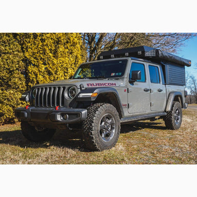 ALU-CAB CANOPY CAMPER FOR 2020+ JEEP GLADIATOR sold by Mule Expedition Outfitters www.dasmule.com