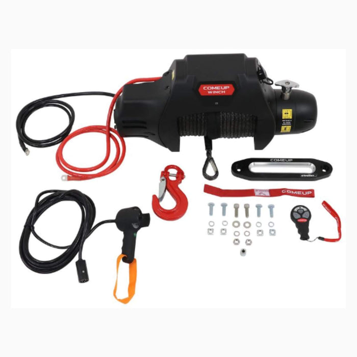 Comeup Seal Gen2 9.5rsi winch with Wireless Remote and Synthetic Rope