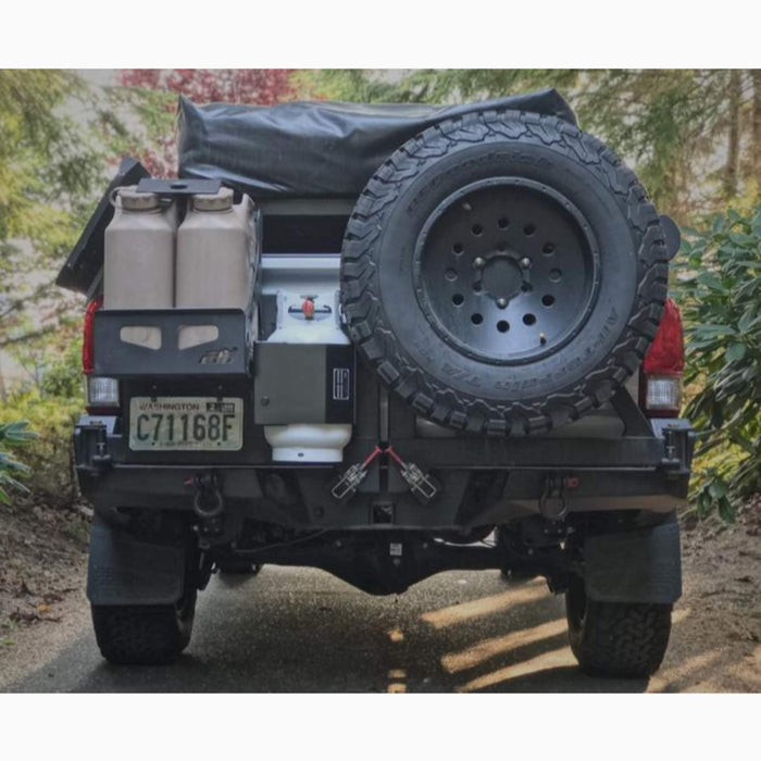 Expedition Essentials PQBM propane bottle mount sold by Mule Expedition Outfitters in Issaquah, WA www.dasmule.com