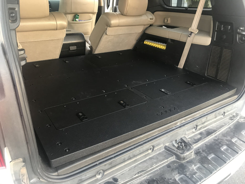 Goose Gear Toyota Sequoia 2nd Gen 3rd Row Delete Plate and Storage System
