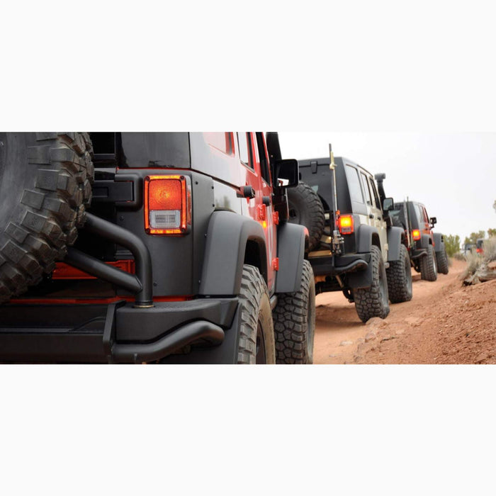AEV JK REAR CORNER GUARDS 2 OR 4 DOOR