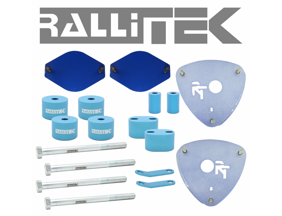 "RalliTEK RTEK-100301 Subaru Forester 2"" lift spacers sold by Mule Expedition Outfitters www.dasmule.com"