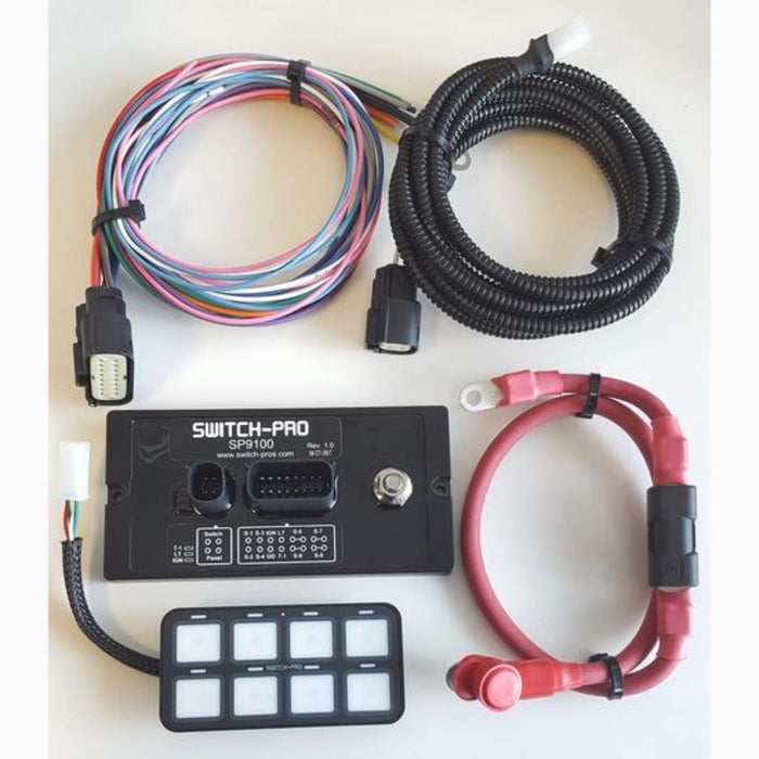 SWITCH PROS SP-9100 8 SWITCH PANEL POWER SYSTEM