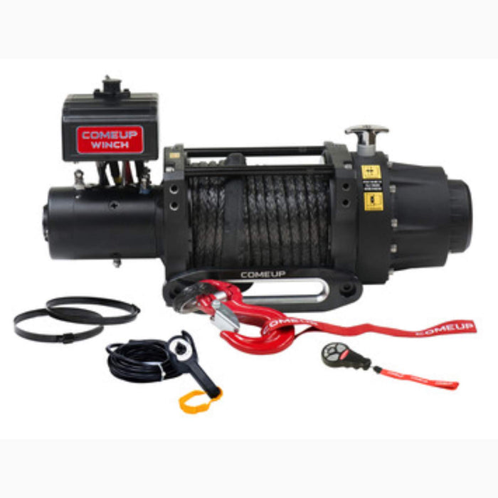 Comeup Seal Gen2 16.5rs Winch with Wireless Remote and Synthetic Rope
