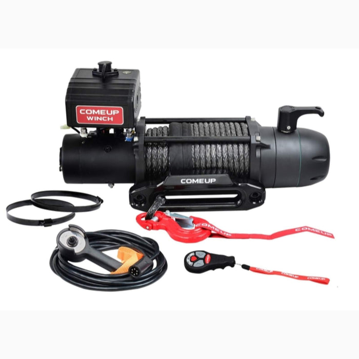 COMEUP SEAL SLIM 9.5RS 12 VOLT WINCH WITH SYNTHETIC ROPE AND WIRELESS REMOTE