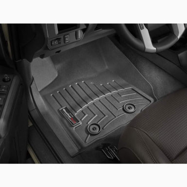 Weathertech FloorLiner DigitalFit - Front Set - Black - 2018-2020 Tacoma - Automatic