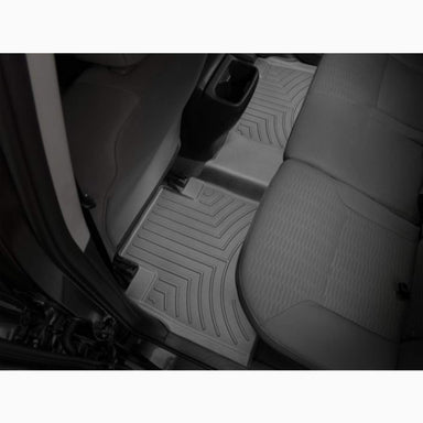 Weathertech FloorLiner DigitalFit - Rear Set - Black - 2016-2020 Tacoma - Double Cab