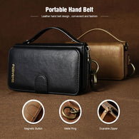New Design Leather 2 in 1 Retro Multi-Functional Wallet Case for Galaxy