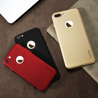 Floveme Luxury UltraThin Shockproof Hybrid 360° Full Body Coverage Case for Your iPhone