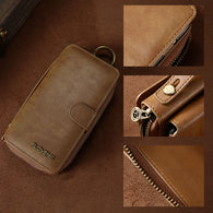 New Design Leather 2 in 1 Retro Multi-Functional Wallet Case for iPhone
