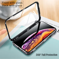 Magneto Absorption Double-Sided Glass Case. 360⁰ Protection for your iPhone