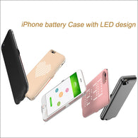 3 in 1 Power Bank Case, Protector Cover, LED Show Shap for your iPhone
