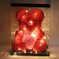 Rose Bear - unusual gift for your loved one
