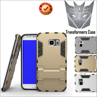 Fashion Luxury Armor Transformers Shockproof Cover For Samsung S6/S7/S8/Note 5. 360° Full Protection