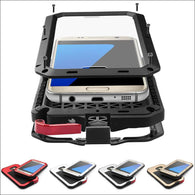 Heavy Duty Protective Metal Aluminum Samsung Case