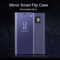 Smart Luxury Flip Leather Mirror Case for your Galaxy