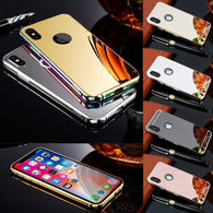 High Grade KXX Aluminum Ultra Lux Mirror Case. 360° Full Protection for your iPhone X