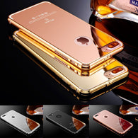 High Grade KXX Aluminum Ultra Lux Mirror Case. 360° Full Protection for your iPhone 5/6/7/8