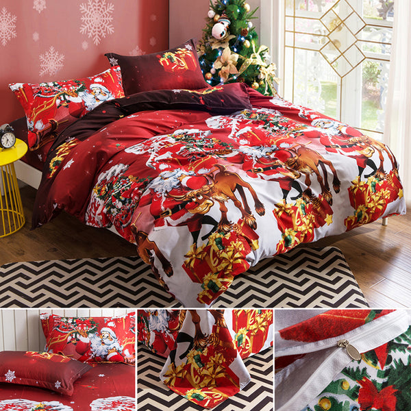 Christmas Comforter.Christmas Bedding Set 1